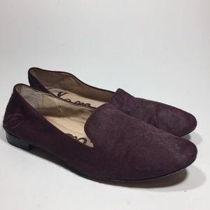 Sam Edeleman Jordy Horsehair Loafer Flats 8
